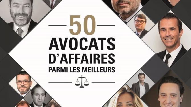 Cinquième famille du dossier « 50 avocats d'affaires parmi les meilleurs – édition 2016 » : les entrepreneurs.