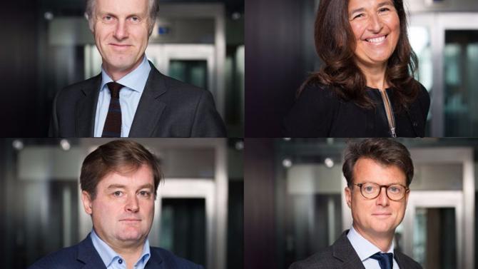 Tous en provenance de chez De Gaulle Fleurance & Associés, Gilles Gaillard, Valérie Lafarge-Sarkozy, Frédéric Manin et Frank Valentin intègrent le cabinet d'affaires en qualité d'associés pour renforcer quatre départements différents.