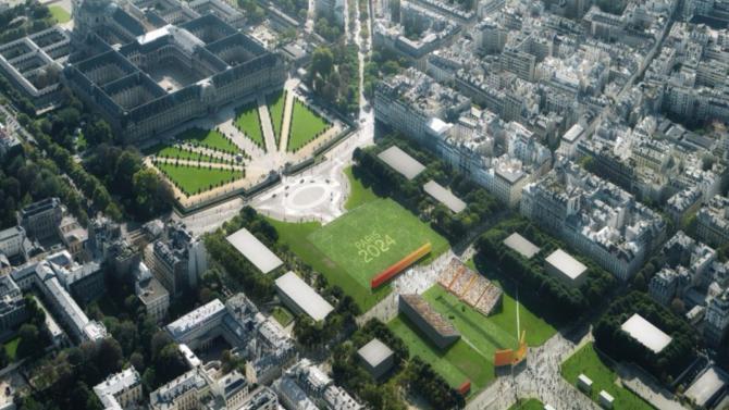 Après son investiture le 14 mai, Emmanuel Macron devrait se rendre au musée du Petit Palais pour recevoir des membres du CIO dans le cadre de la candidature de Paris 2024. L'enjeu est bien national : l'accueil des JO constituerait un accélérateur de développement considérable pour les infrastructures du territoire.