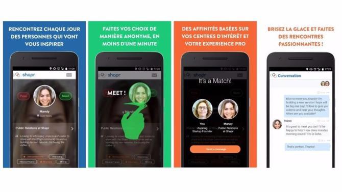 L'application mobile qui permet à ses utilisateurs de rencontrer des gens inspirants autour de soi, en fonction de ses intérêts, a convaincu Franck Riboud (Danone) et d'autres investisseurs privés.