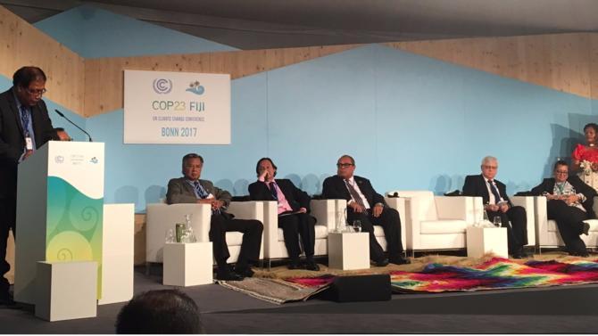 La 23ème conférence annuelle de l'ONU sur les changements climatiques (COP23) s'est tenue à Bonn, du 6 au 17 au novembre dernier, tandis que les appels de la communauté scientifiques se font de plus en plus pressants pour que soient respectés les objectifs de l'Accord de Paris.
