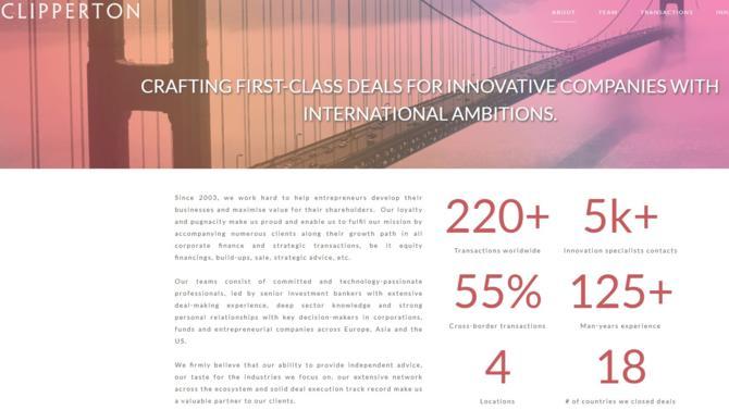 La banque d'affaires du groupe BPCE acquiert une participation minoritaire dans Clipperton, le spécialiste tricolore du M&A « tech ».