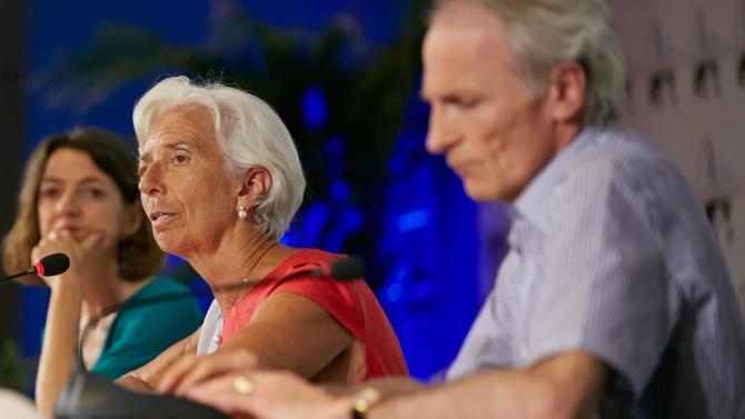 Lors de l'édition 2018 des rencontres économiques d'Aix-en-Provence, la directrice générale du FMI Christine Lagarde est intervenue sur la question des atouts procurés par l'Europe et la croissance économique qui est au rendez-vous.