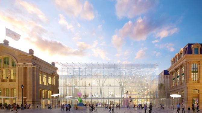 La SNCF a dévoilé son projet de rénovation et de transformation de la Gare du Nord. À l'horizon 2023, la gare sera dotée de nouvelles infrastructures pour pouvoir répondre aux exigences liées à l'organisation des JO de 2024.