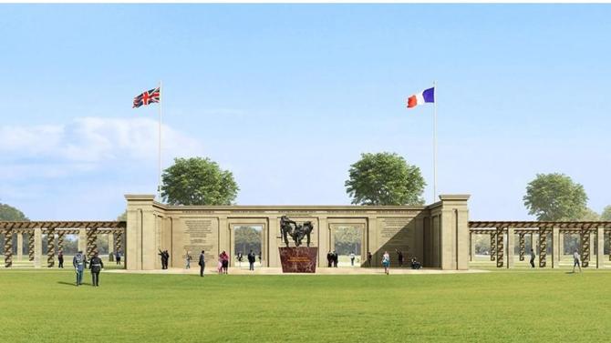 La Royal Institution of Chartered Surveyors (RICS), qui a fêté ses 150 ans cette année, a remis son trophée au projet d'édification du British Normandy Memorial : le premier lieu de mémoire dédié aux femmes et aux hommes, sous commandement britannique, tombés le 6 juin 1944, sur les plages de Normandie.