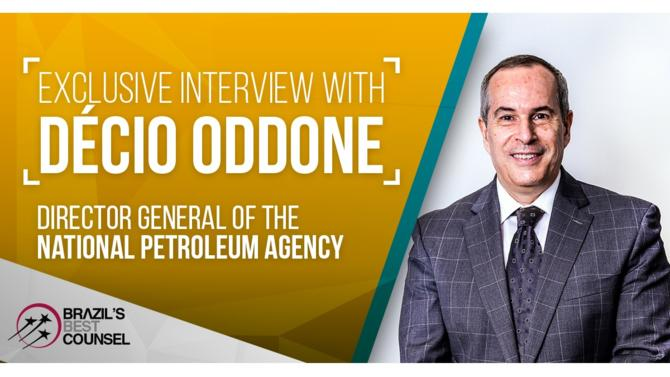 Décio Oddone is Director General of the National Petroleum, Natural Gas and Biofuels Agency. Mr. Oddone has over three decades of experience in the sector having previously held roles at Petrobras (CEO of Petrobras Bolivia; CEO of the South Cone), Braskem (Vice-President) and Prumo (Head of Oil & Gas Projects).