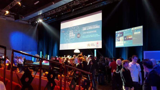 Paris devient la capitale de l'open source pendant 2 jours. Le Paris Open Source Summit se tient le 5 et 6 décembre prochain aux Docks de Paris.