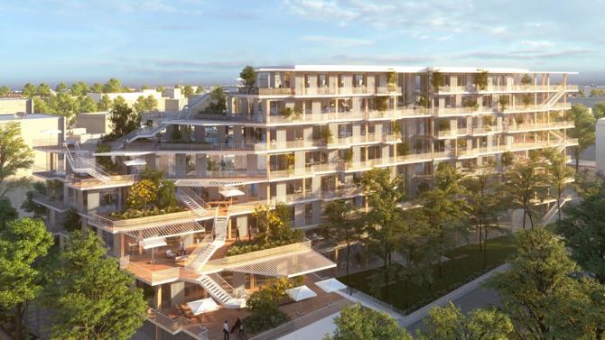 Woodeum a cédé à L'Etoile Properties, agissant avec un fonds d'investissement américain, le projet WoodWork qui développera 9 500 m² de bureaux en bois massif bas carbone à Saint-Denis.