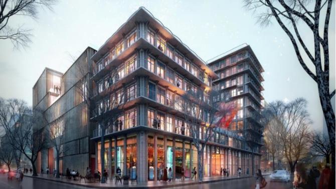 Icade a été retenu pour réaliser un projet mixte de près de 9 500 m². Surplombant le faisceau ferré de la gare d'Austerlitz, l'ensemble réunira le nouveau centre parisien de l'Université de Chicago et une résidence d'environ 86 logements en accession.