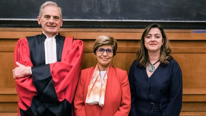 Méka Brunel  a participé à la cérémonie de remise des Master II de Droit immobilier et de la construction d'Assas.