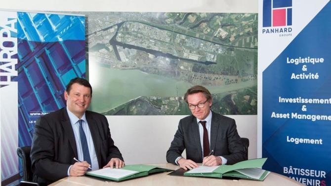 Panhard et Haropa – Port du Havre ont signé une convention d'occupation temporaire portant sur un terrain de 11 hectares en vue de l'édification d'un entrepôt logistique de 49 000 m². Voici les détails du projet.