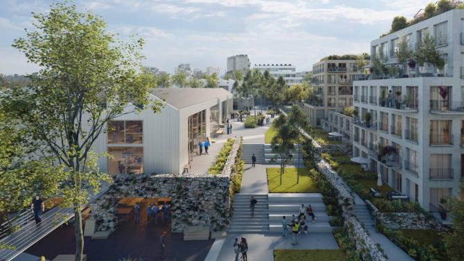 Le projet d'Altarea Cogedim remplace celui initialement prévu de centre commercial, porté par Apsys, dans le secteur des Simonettes nord.