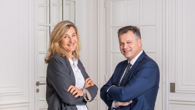 Jeantet renouvelle sa gouvernance en nommant deux nouveaux comanaging partners à Paris : Catherine Saint Geniest et Karl Hepp de Sevelinges.