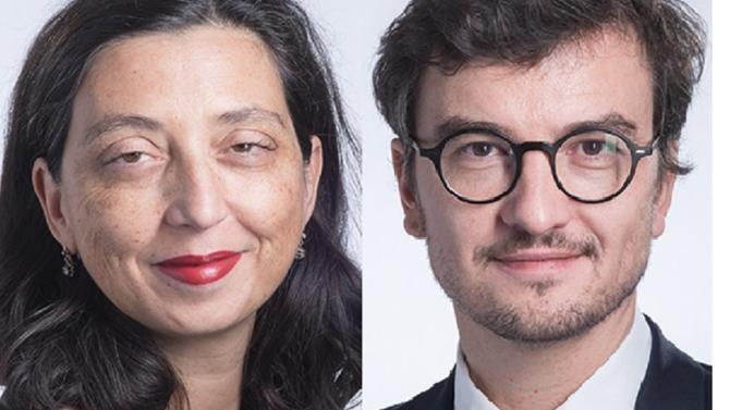Le cabinet accueille deux nouveaux associés à Paris : Sophie Pignon et Éric Charvillat.