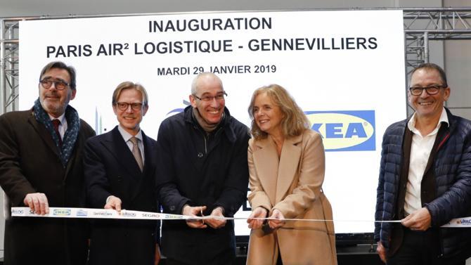 Le centre de distribution client accueille le nouveau centre de distribution client de Ikea France sur 50 000 m² ainsi que Leroy Merlin (13 000 m²).