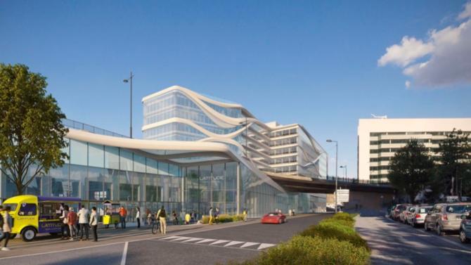 Le projet de 22 300 m², situé sur les rives du boulevard circulaire, devrait être achevé au deuxième trimestre 2020.  Présentation.
