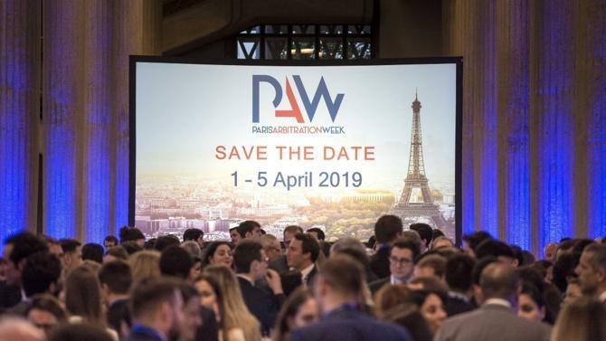 La prochaine édition de la Paris Arbitration Week se tiendra du 1er au 5 avril prochains à Paris.