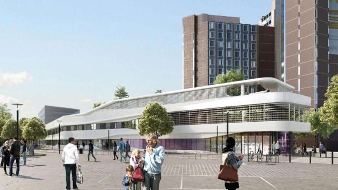 Gustave Roussy accueillera d'ici 2020 un nouveau bâtiment de plus de 10 000 mètres carrés composé d'un pôle ambulatoire, d'un pôle logistique et d'un Wellness Center.