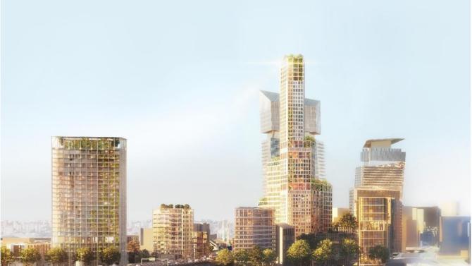 Le groupement AG Real Estate, Icade, les nouveaux constructeurs (mandataire) et Nexity, associé à l'opérateur commercial Frey, désigné lauréat de l'appel à projets « inventer bruneseau »