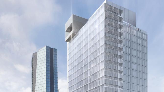 Cette nouvelle tour sera construite en front de mer, à l'emplacement de l'immeuble où a débuté l'aventure CMA CGM.
