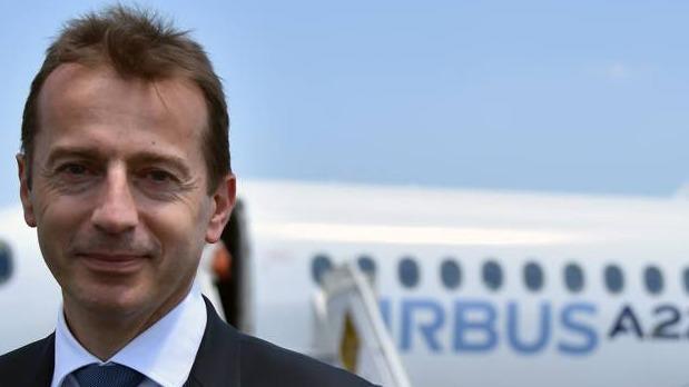 Le futur patron de l'avionneur européen, en remplacement de Tom Enders, vient de vendre 300 appareils à China Aviation Supplies pour un montant de 35 milliards de dollars.