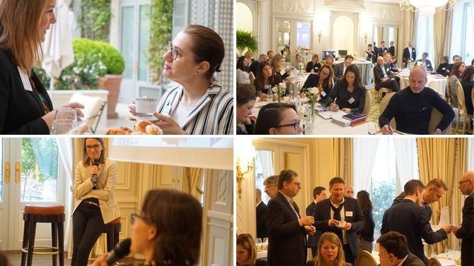 Plus de trente directeurs des ressources humaines et directeurs spécialisés RH se sont retrouvés mardi 16 avril au Ritz pour le lancement du Cercle « Talent Management & Formation » du magazine Décideurs