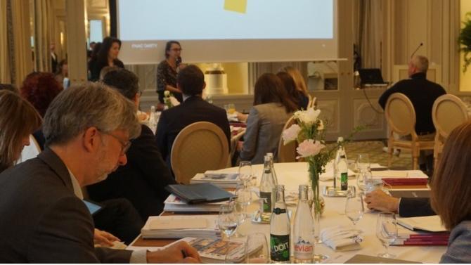 """La session de lancement du Cercle """"Talent Management & Formation"""" le 16 avril dernier, a rassemblé avec succès une trentaine directeurs des ressources humaines et directeurs spécialisés RH. Le Cercle se réunit à nouveau jeudi 16 mai, dans un espace de travail innovant des Champs Elysées."""