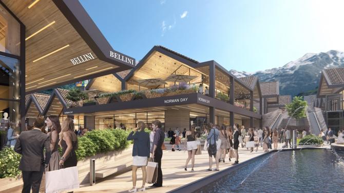 Après l'ouverture de Roppenheim The Style Outlets en 2012, l'acteur espagnol Neinver vient de franchir une étape décisive dans le développement d'un nouvel ensemble situé à Valserhône, non loin de la frontière suisse. Explications.