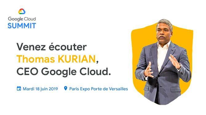 Le 18 juin 2019 est une date à ne pas manquer ! Google Cloud organise le Cloud Summit Porte de Versailles. Un événement immersif qui réunit l'ensemble de l'écosystème qui gravite autour du cloud : dirigeants, clients, partenaires, développeurs, ingénieurs et décideurs informatiques…