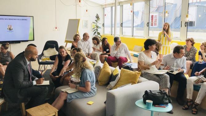 Le 27 juin dernier avait lieu la troisième session du « Cercle talent management et formation » de Décideurs Magazine, dans le cadre lumineux et collaboratif de l'Openmind Kfé Cléry.