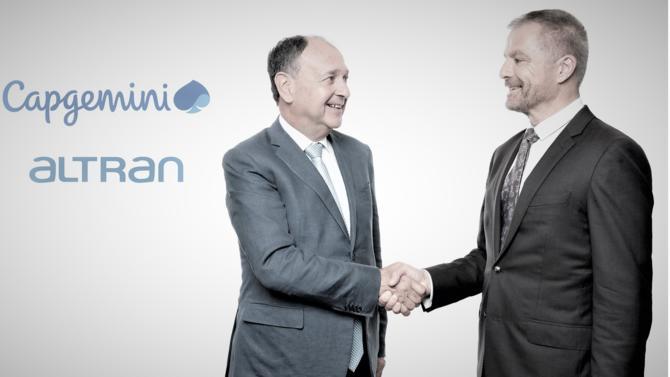 Le leader mondial du conseil et des services informatiques, Capgemini, frappe un grand coup avec l'acquisition d'Altran, le champion de la R&D externalisée pour 5 milliards d'euros.