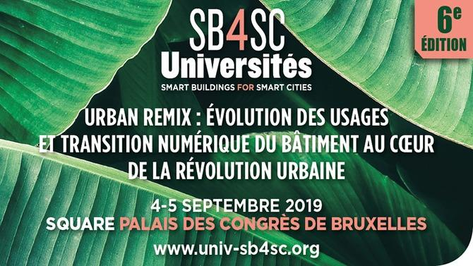 Le salon centré sur l'avenir de la smart-city et du smart-building en Europe se tiendra les 4 et 5 septembre prochains au palais des congrès de Bruxelles.