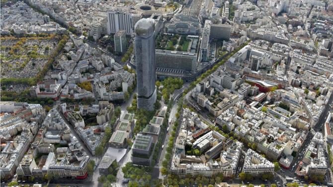 Le groupement emmené par l'agence Rogers Stirk Harbour + Partners a été désigné lauréat de la grande consultation d'urbanisme pour réaménager le quartier Maine-Montparnasse à Paris. Présentation du projet.