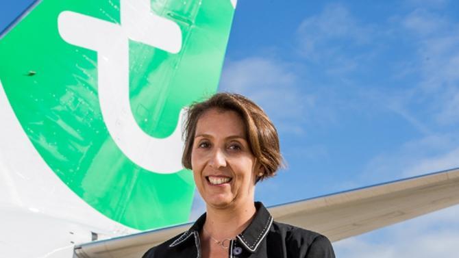 Alors que les pilotes ont récemment accepté de renégocier l'accord plafonnant à 40 le nombre d'appareils de Transavia, ouvrant ainsi la voie à la croissance du groupe, sa directrice administrative et financière détaille ses projets pour l'entreprise.