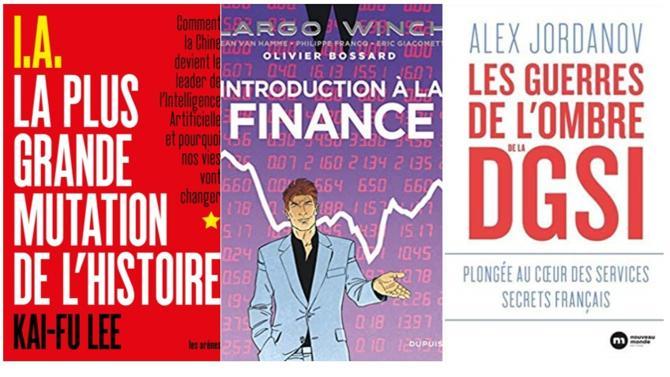Traduction française d'un best-seller sur l'IA, immersion avec la DGSI et finance avec Largo Winch. Voici trois ouvrages à découvrir en cette fin d'été.
