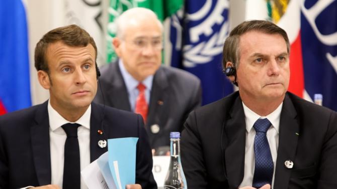 Fustigeant l'attitude de son homologue brésilien, Emmanuel Macron a déclaré que la France ne signera pas l'accord prévu entre l'UE et le Mercosur. Ce qui lui permet d'éviter la fronde possible des agriculteurs.