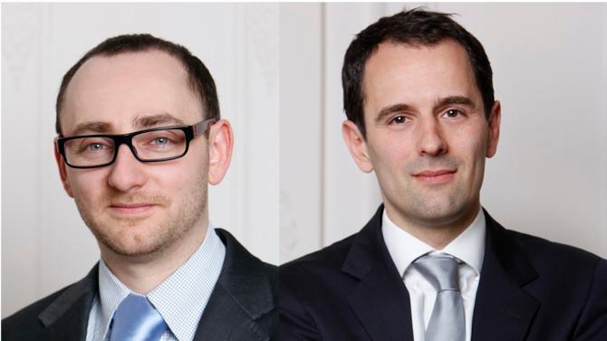 Philippe Guellier et Olivier Metzger sont les deux nouveaux codirecteurs du bureau lyonnais de Seban & Associés.