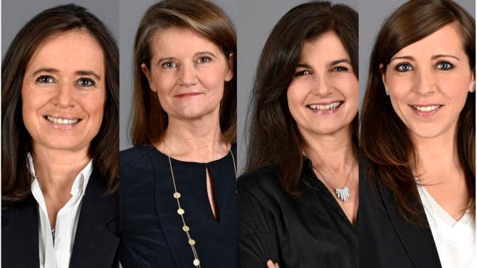 Véronique Gignoux, Emmanuelle Bret, Pascale Berthet et Céline Villacampa sont promues counsels chez Fiducial Legal by Lamy.
