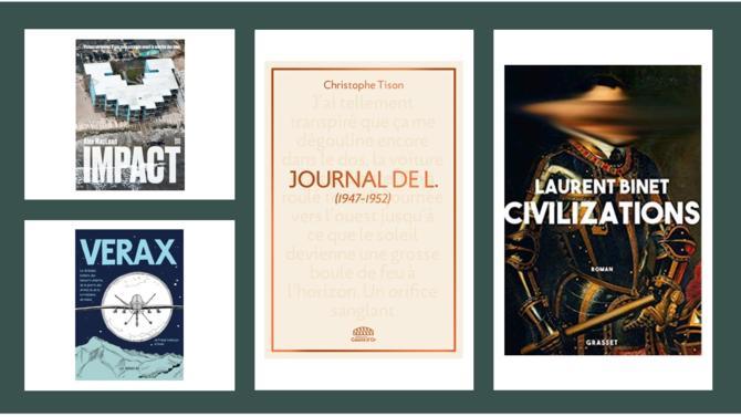 BD, romans, livre de photo... La Rédaction de Décideurs vous présente ses coups de cœur littéraires du mois.