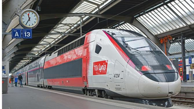 Récemment arrivé à la tête de TGV Lyria, Fabien Soulet, expose le potentiel de développement de la liaison ferroviaire entre Paris et la Suisse.