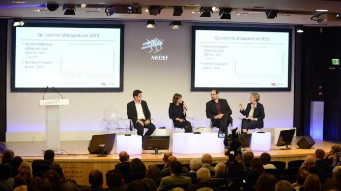 À l'occasion du mois européen de la cybersécurité, le Medef a organisé un après-midi de conférences sur le sujet le 14 octobre, réunissant de nombreux spécialistes en la matière.