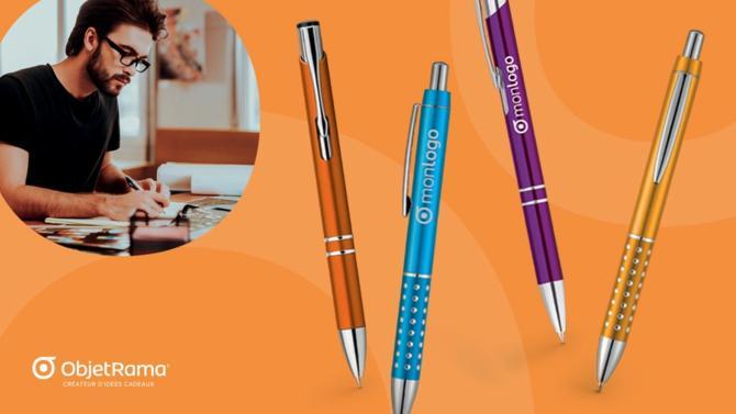 Le stylo publicitaire est un excellent moyen de remercier ses clients et fournisseurs, tout en valorisant l'image de marque de son entreprise. Loin d'être démodé, cet objet aussi élégant que fonctionnel a su se renouveler pour susciter la curiosité et la surprise de vos destinataires.