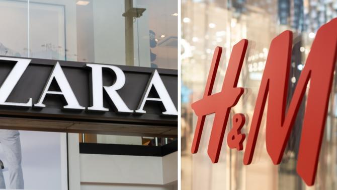 Quelles sont les différences entre Zara et H&M ? Nombre de magasins, réseaux sociaux, e-commerce, résultats financiers, concurrence… Décideurs compte les points.