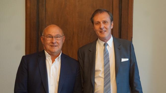 Inscrit au barreau de Paris depuis septembre dernier, l'ancien ministre de l'Économie et des Finances a rejoint le cabinet Franklin. Avec Jérôme Michel, en charge du département dédié au droit public des affaires, il présente leurs projets communs.