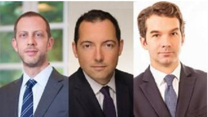 David Père, Sylvain Bergès et Pierre Thomet ont prêté serment en 2005