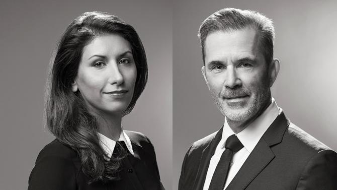 Venant de deux maisons différentes, Myriam Delawari-de Gaudusson et Patrick Thiébart rejoignent ensemble, avec leurs équipes, le cabinet Franklin pour y former le département social.
