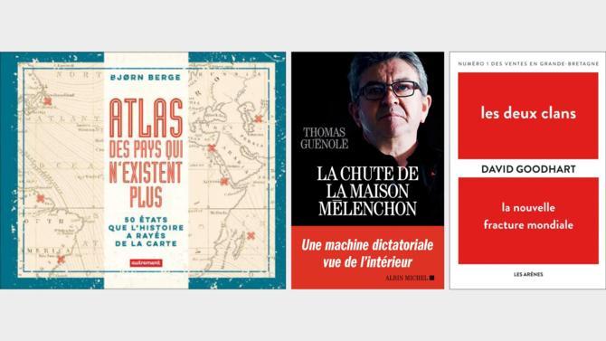Ce mois-ci, la rubrique Livres de Décideurs vous amène dans des pays disparus, dans l'arrière-cuisine peu reluisante de la France insoumise, en Grande-Bretagne et dans l'univers de Thorgal.