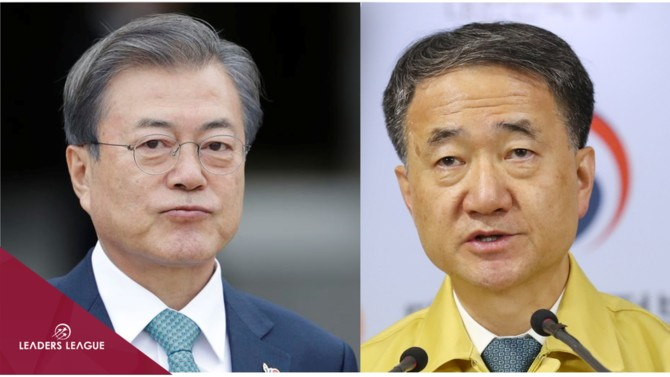 President Moon was just re-elected in a landslide victory. We assess how he and his health minister have adroitly navigated the coronavirus crisis.
