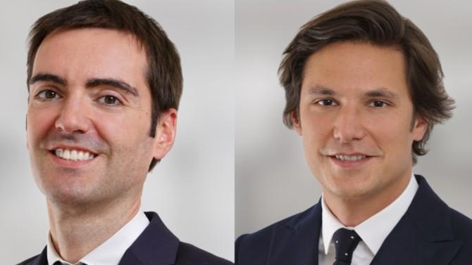 Emmanuel Mimin et Pierre-Benoît Pabot du Châtelard sont nommés associés respectivement dans les équipes corporate/M&A et financement.