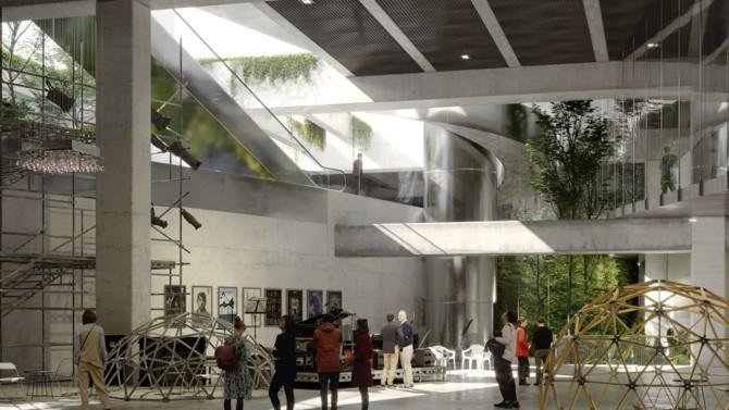 Paris La Défense a retenu le groupement mené par l'agence d'architecture belge Baukunst pour valoriser quatre volumes résiduels situés sous l'axe historique du quartier d'affaires. Présentation d'un voyage urbain au long cours qui commence.